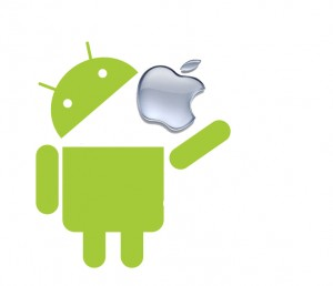 Android-contro-Apple-